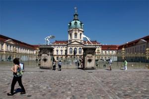 Schloss Charlottenburg w Berlinie