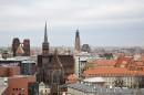 8_0038 8_0038 Od lewej katedra św.Marii Magdaleny, kościół św.Wojciecha.