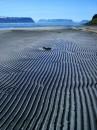 A sand beach at Hesteyri