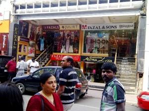 Indyjska ulica w Bangalore