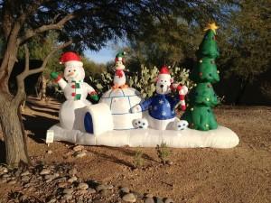 Świąteczne pozdrowienia z Arizony