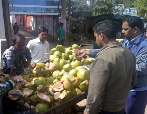 Indie. Bazary i rynki w Bangalore