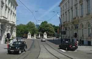 Ulice i pasaże Brukseli