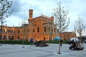 Dworzec Wrocław Główny – odsłona wieczorna