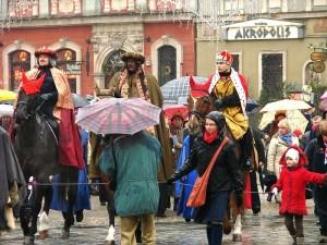 Królowie i krasnale we Wrocławiu