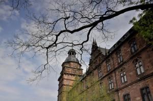 Wiosna wokół zamku Johannisburg