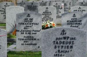 Pamięci tych, którzy odeszli. Cmentarz Wojskowy na Powązkach