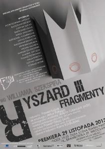RYSZARD III. FRAGMENTY – premiera spektaklu dyplomowego studentów IV roku Wydziału Aktorskiego PWST