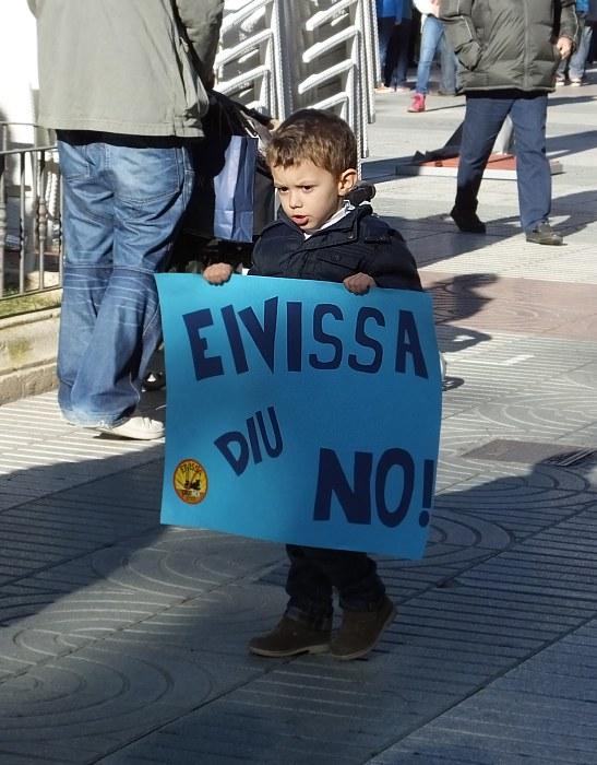 Eivissa diu no ! Ibiza mówi nie !