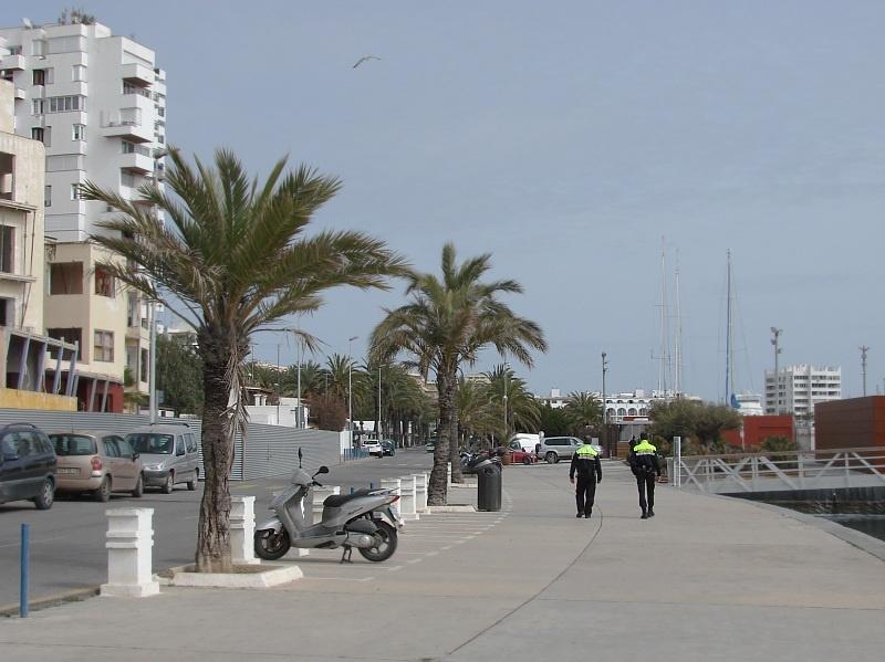 Sant Antoni de Portmany przed sezonem turystycznym