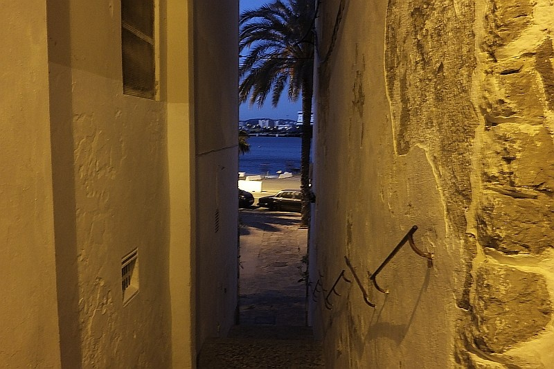 Ibiza po zachodzie słońca