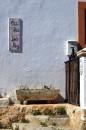 Santa Eularia - płytka ceramiczna z nazwą posesji