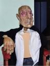 Śmieszny Staruszek - lalka prowadzona w trudnej technice burnaku