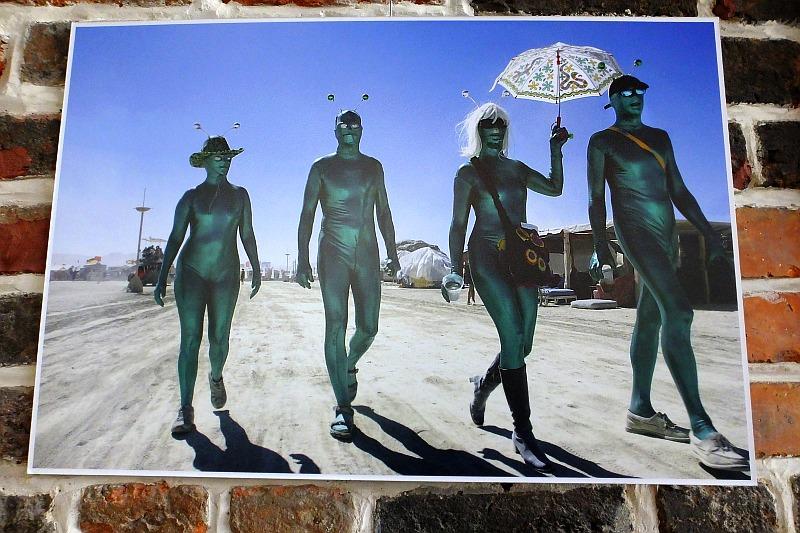 Festiwal Burning Man w fotografii Romualdas Požerskis i Moniki Požerskytė