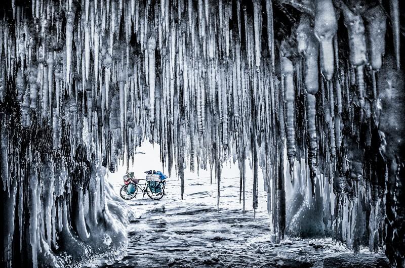 Rowerowa wyprawa po zamarzniętym Bajkale – spotkanie z podróżnikiem w Centrum Kultury ZAMEK