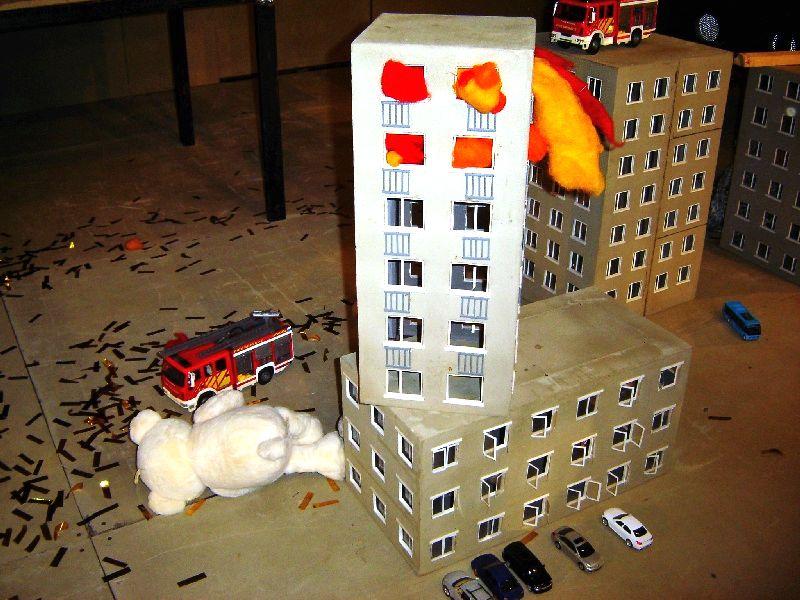 Pożar na 9 piętrze !