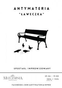 Ławeczka – spektakl teatru improwizacji Antymateria