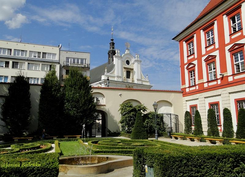 Zadbane zakątki Wrocławia. Ogród Barokowy przy Ossolineum