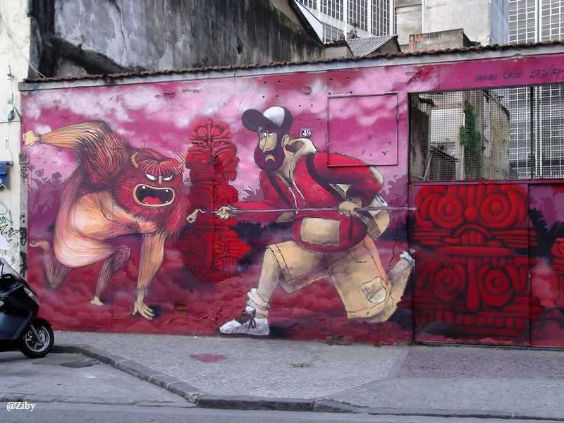Barwy Brazylii w kilku odsłonach. Graffiti – zaakceptowana sztuka uliczna