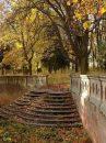 Schody do parku, październik 2008 r.