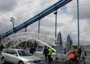 Most Zwierzyniecki jedzie po Moście Grunwaldzkim