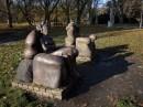 """""""Oczekiwanie"""" - rzeźba Ryszarda W. Zamorskiego"""