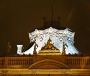Ozdobny dach pałacu I.K.Poznańskiego