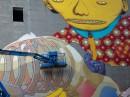 "Malowanie murala ""Ballada"" Roosevelta 5 wyk. OS GEMEOS/ARYZ (BRAZYLIA, HISZPANIA)"