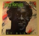 Art Blakey - graficzny portret na okładce Jazz Forum