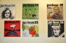 Okładki Jazz Forum wg projektu Rafała Olbińskiego