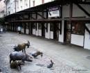 Ulica Jatki - pracownie artystyczne i galerie sztuki