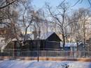 Skansen zimą