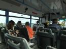 Autobusy są czyste i nowoczesne