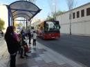 Przystanek linii 03 w mieście Ibiza