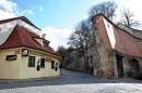 Droga do klasztoru na Strahowie