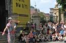 Występ Teatru V.O.S.A z Pragi w Dniu Dziecka