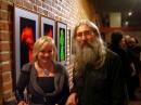 Artyści i organizatorzy wystawy: Barbara Górniak i Andrzej Dudek-Dürer