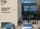 Wejście do PWST od ul. Braniborskiej