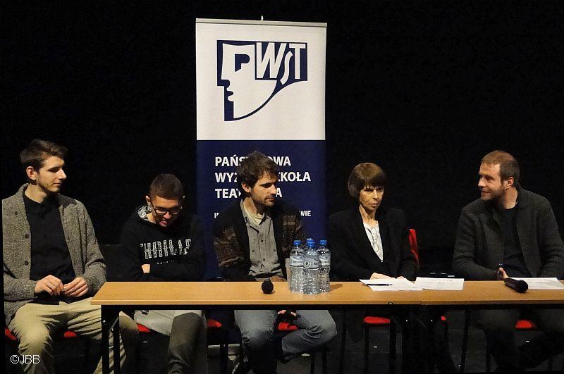 Program Podyplomowej Samoformacji Aktorskiej – spotkanie beneficjentów z mediami