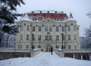 Centrum Kultury ZAMEK w zimowej szacie