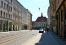 Görlitz -dworzec kolejowy, widok  z ulicy Berliner