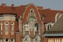 Odnowione elewacje z cegły są ozdobą miasta