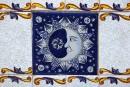 Sant Antoni de Portmany - zdobione płytki ceramiczne