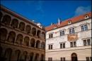 Litomyśl - dziedziniec pałacowy