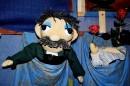 Kowal - lalka  prowadzona przez Arkadiusza Cyrana
