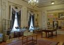 Wnętrze pałacu. Pokój poświęcony Arturowi Rubinsteinowi.