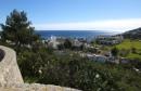 Widok z kościelnego wzgórza na morze