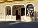 Sant Rafael, sklep z ceramiką ozdobną i użytkową