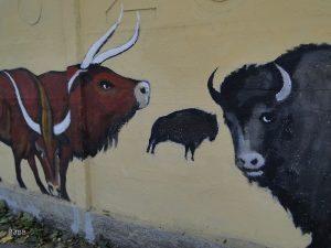 Mural ZOO. Wrocławianie pomogli artyście uratować jego dzieło