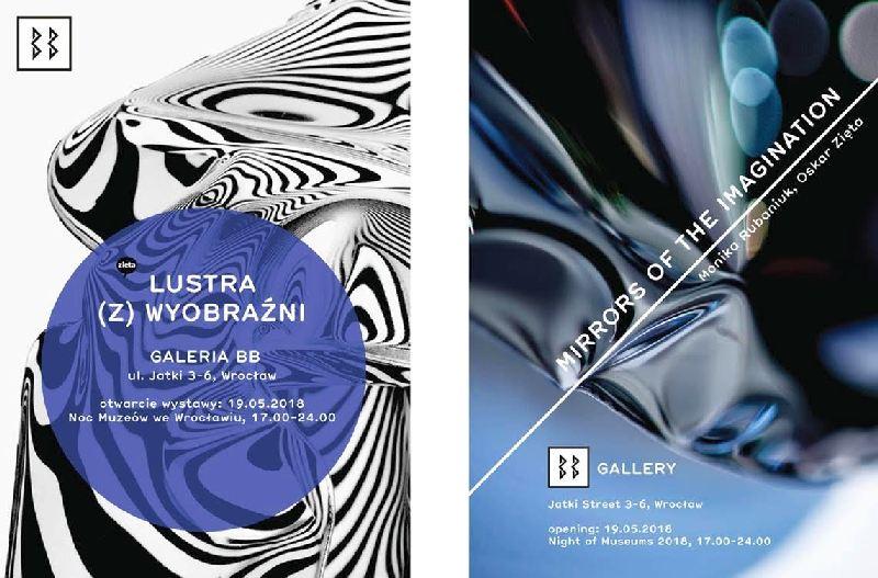 Lustra (z) wyobraźni – Monika Rubaniuk i Oskar Zięta w Galerii BB
